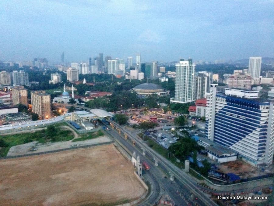 Views from Bejaya Times Square Hotel premier room