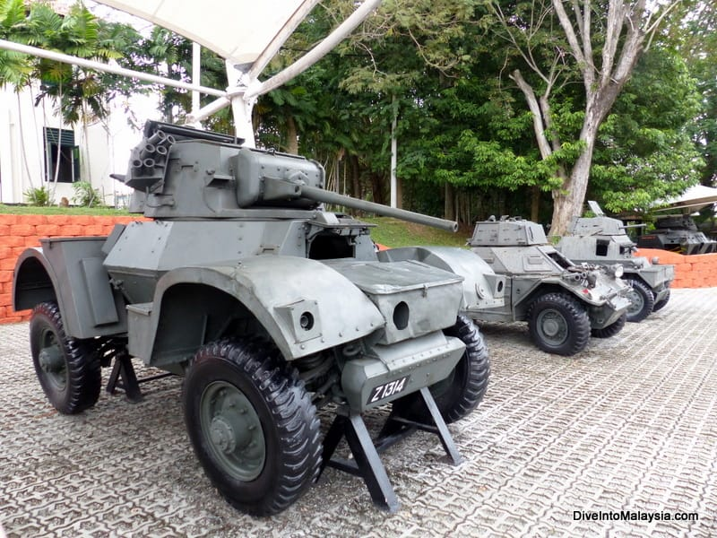 Port Dickson Army Museum for port dickson 1 day trip