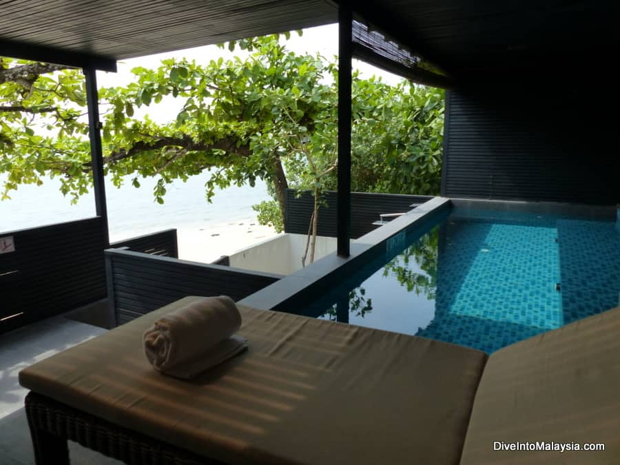 private pool and jacuzzi Langkawi