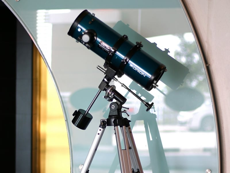 telescope at one of the best places to vist in Port Dickson