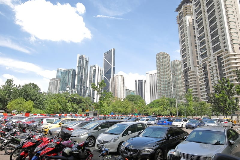 Parking in Kuala Lumpur can i drive in malaysia with us license