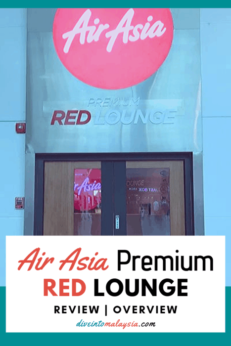 AirAsia Premium Red Lounge Review And Overview [2019]
