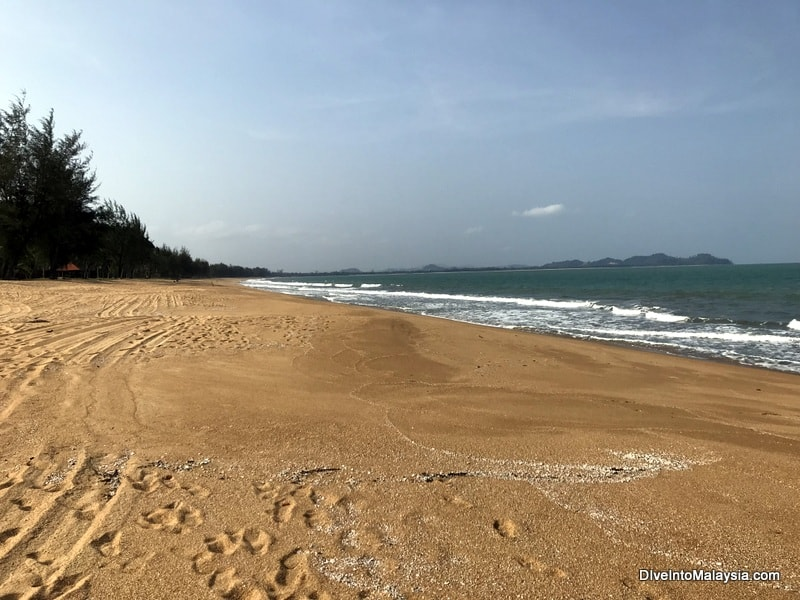 Club Med Cherating review beach