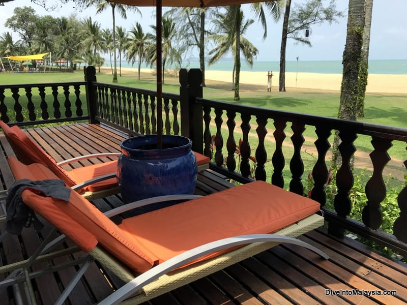 Club Med Cherating Beach suite balcony