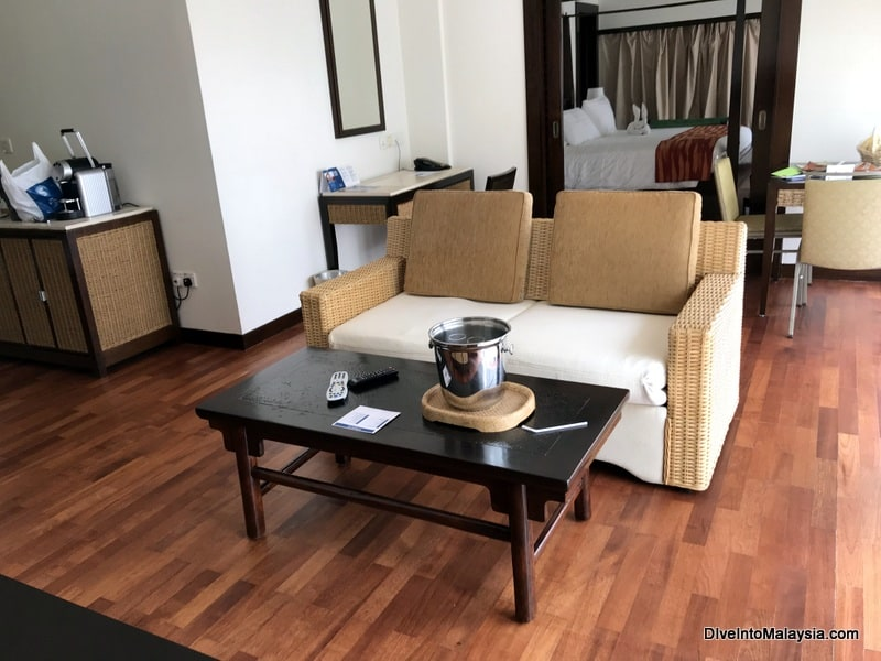 Club Med Cherating Beach suite room