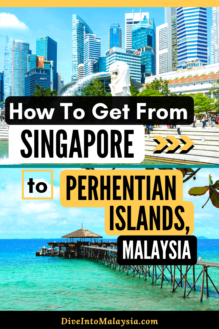 How To Get From Singapore To Perhentian Islands, Malaysia [2019]