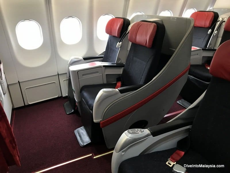 Air Asia business class row 1