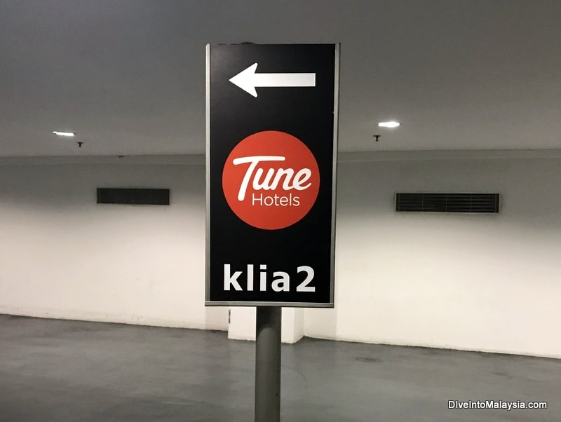 Tune Hotel KLIA2 to klia
