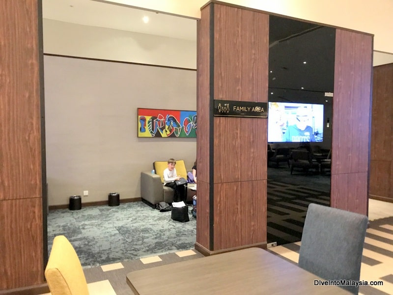 family area mas golden lounge klia