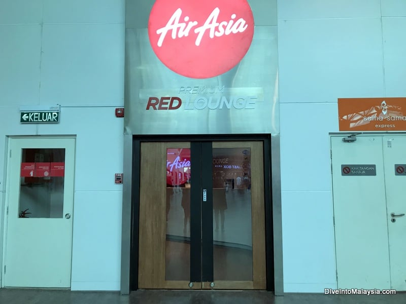 Air Asia Premium Red Lounge klia2