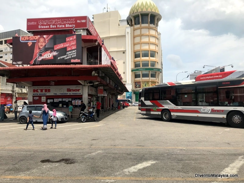 Kota Bharu bus station