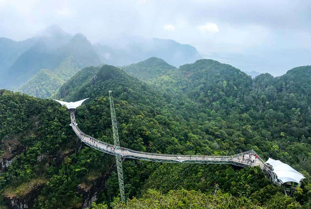 SkyBridge and SkyCab in Langkawi what can you do in Malaysia