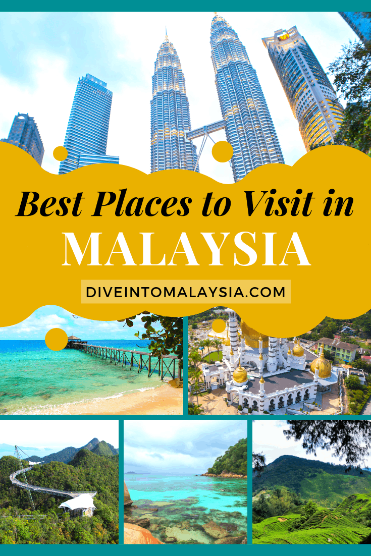 Top 20 Best Places To Visit In Malaysia [2020]