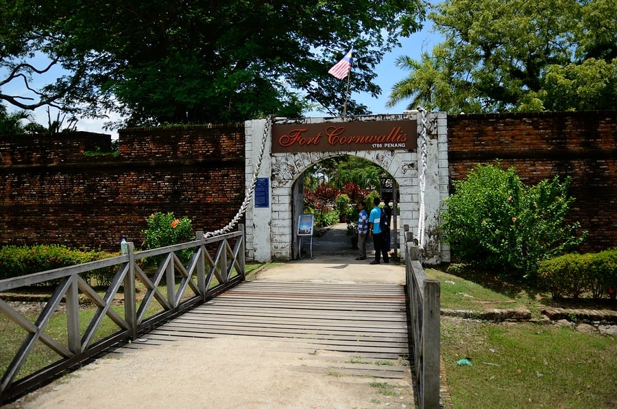 what best in Penang Fort Cornwallis