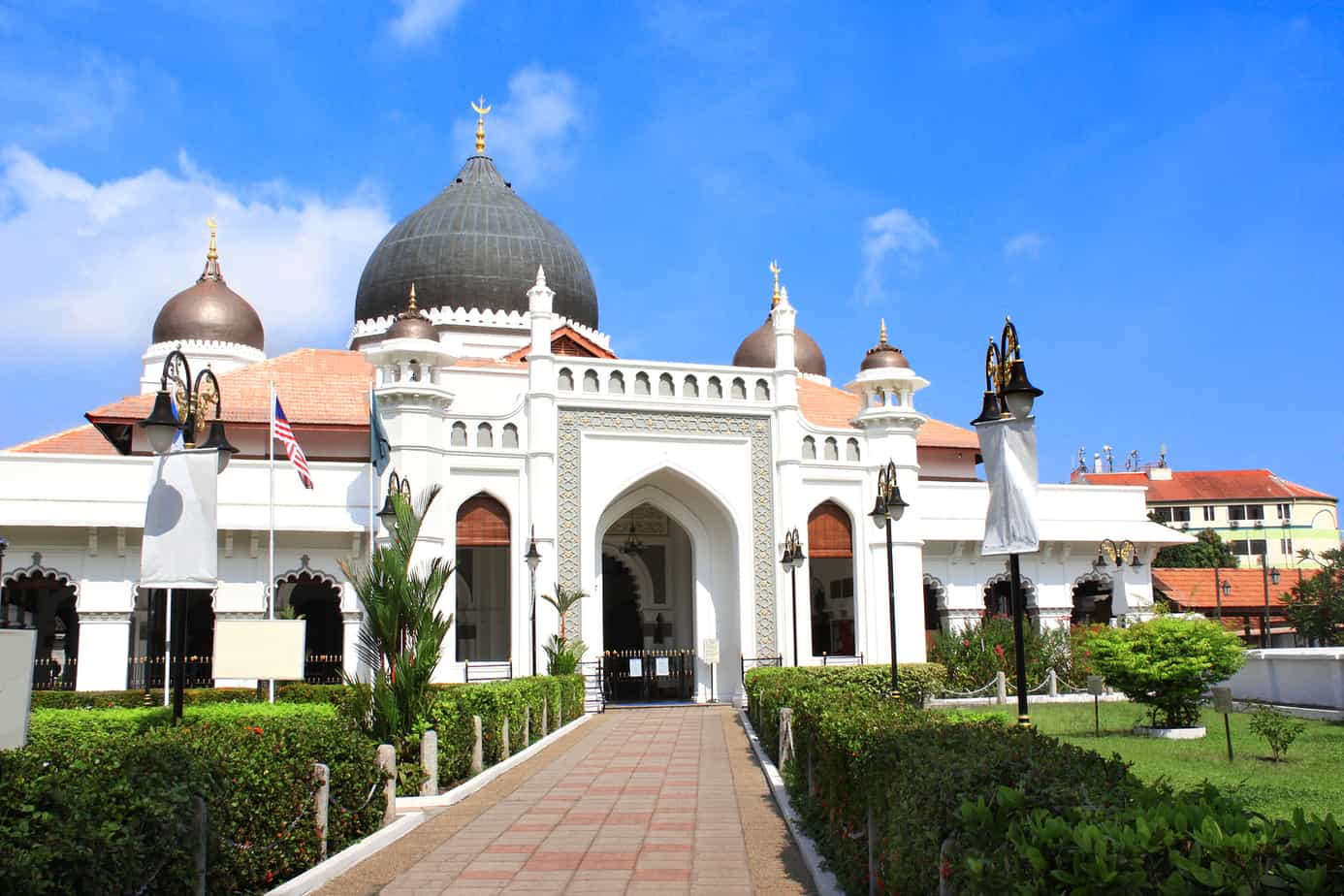 Penang what to see Kapitan Keling Mosque