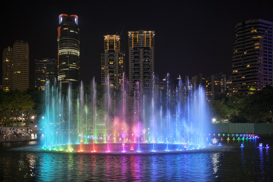 Symphony Fountain Lightshow