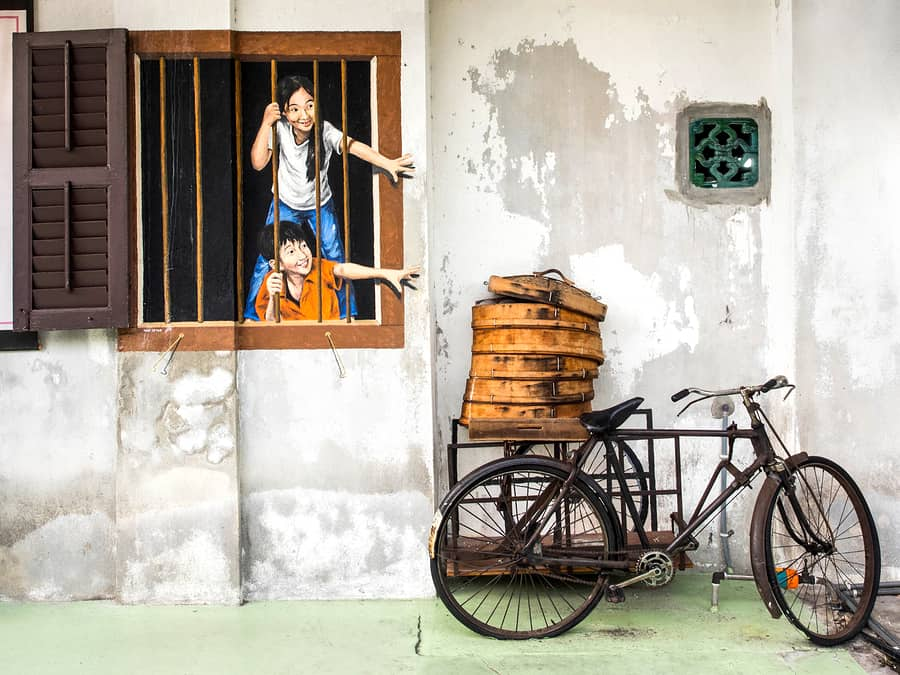 Penang top places to visit Street Art