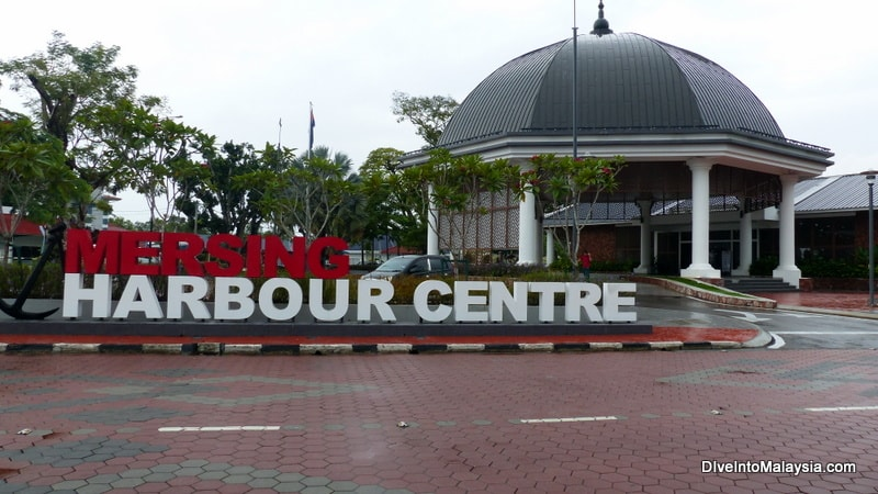 Mersing Harbour Centre by bus Singapore Mersing