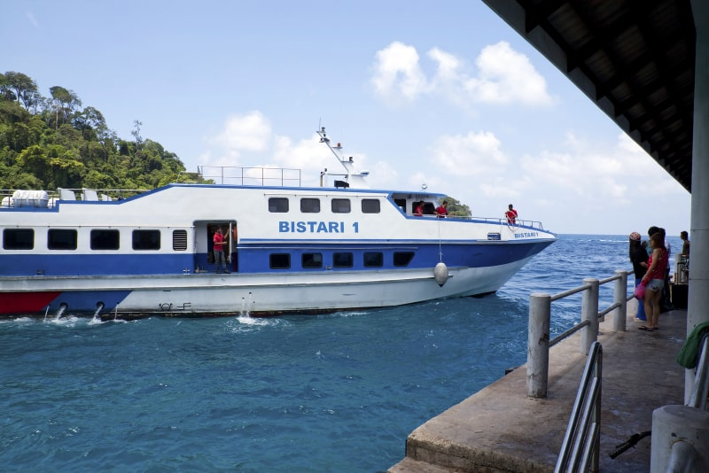Tioman Island Ferry at Salang