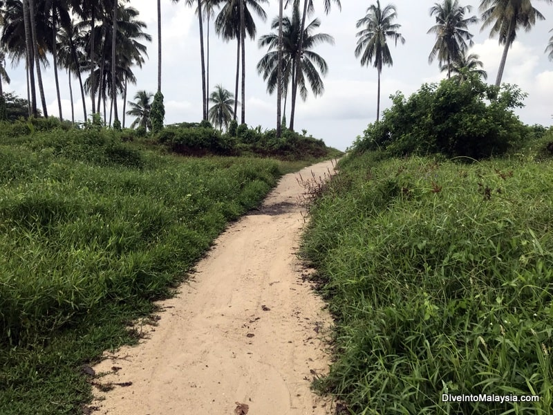 The very easy trek from Long Beach to Teluk Kalong