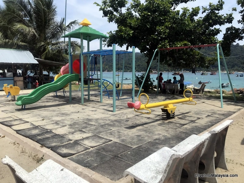 playground on Perhentian Kecil