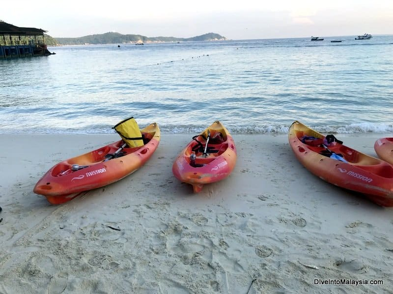 Kayaking in Perhentian Islands