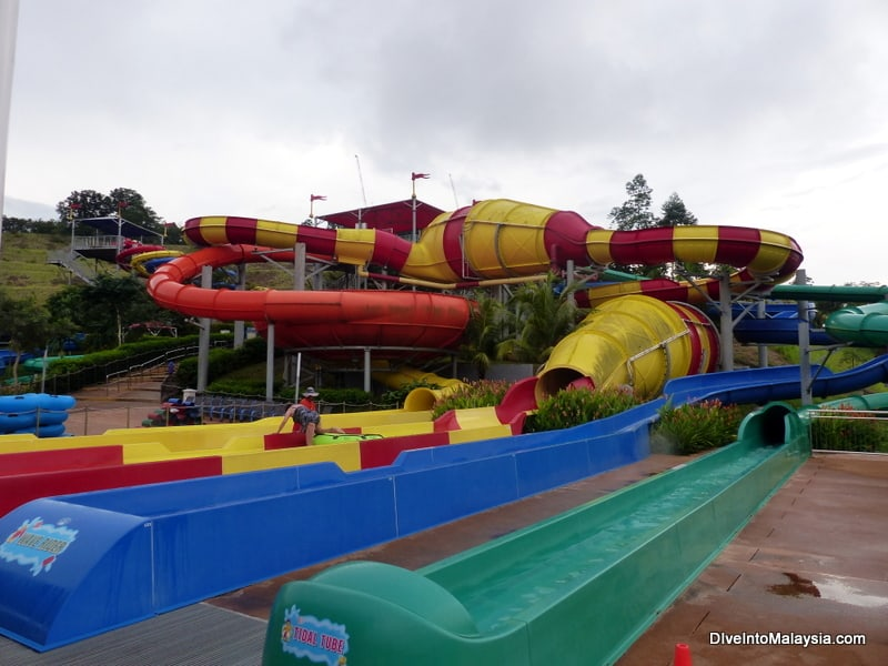 Legoland Malaysia Water Park water slides