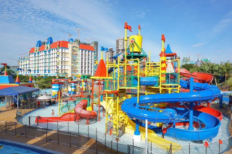 water playground at Legoland Malaysia Water Park