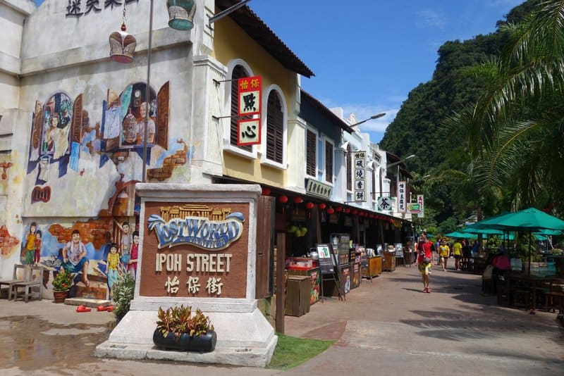 Lost World of Tambun Ipoh Street