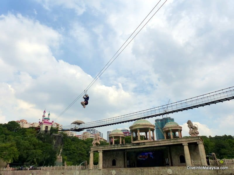 Sunway Lagoon flying fox