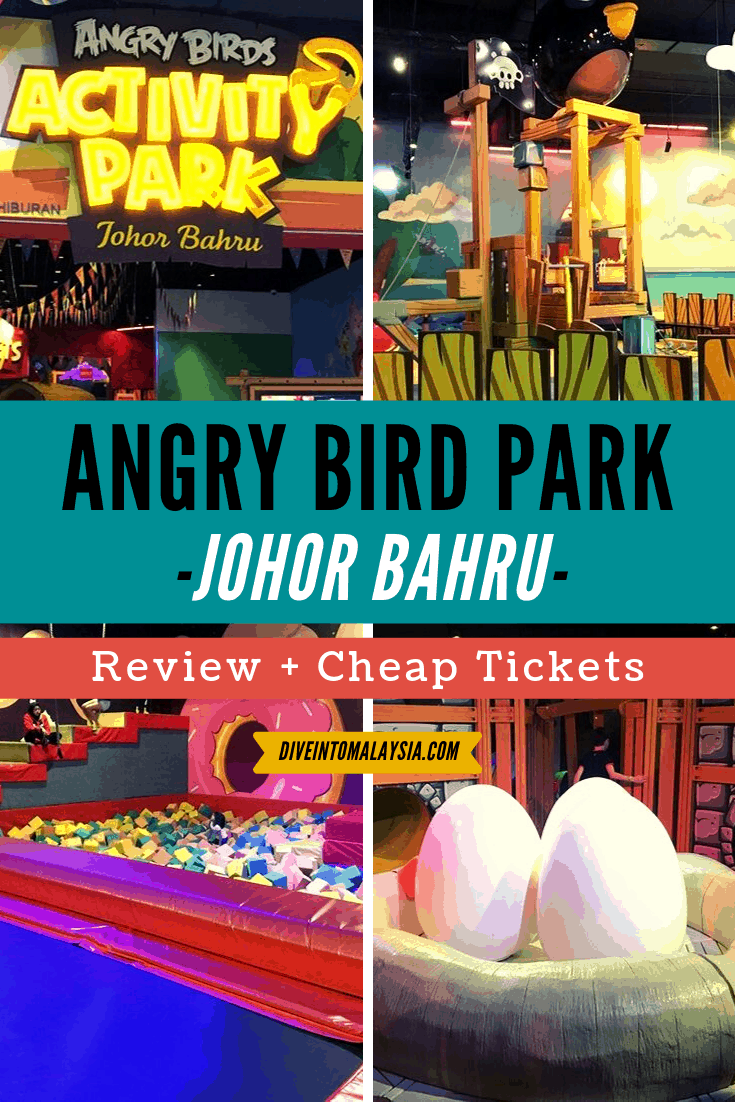 Angry Bird Park Johor Review + Cheap Tickets [2019]