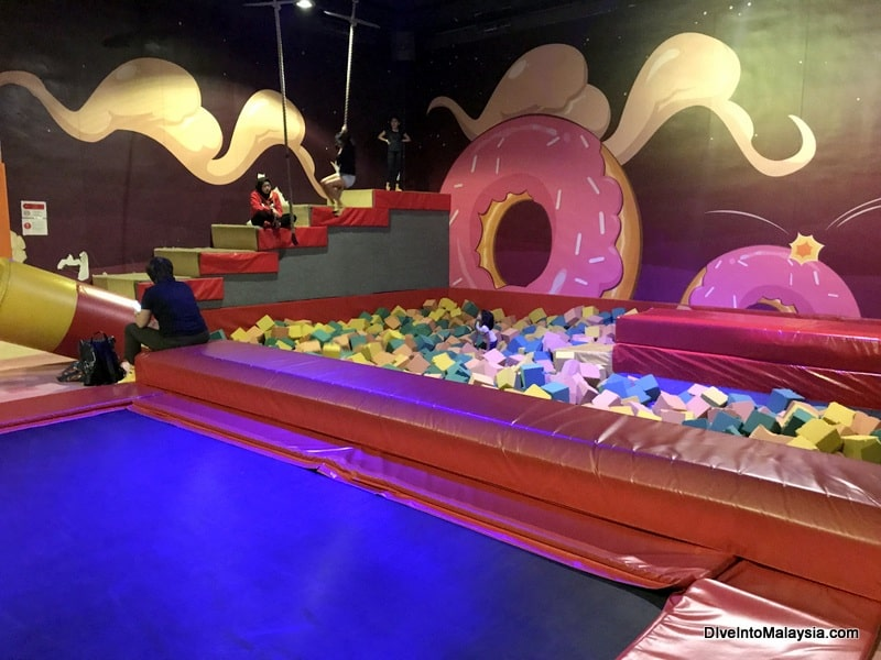 We definitely found Utopia with this giant foam pit!