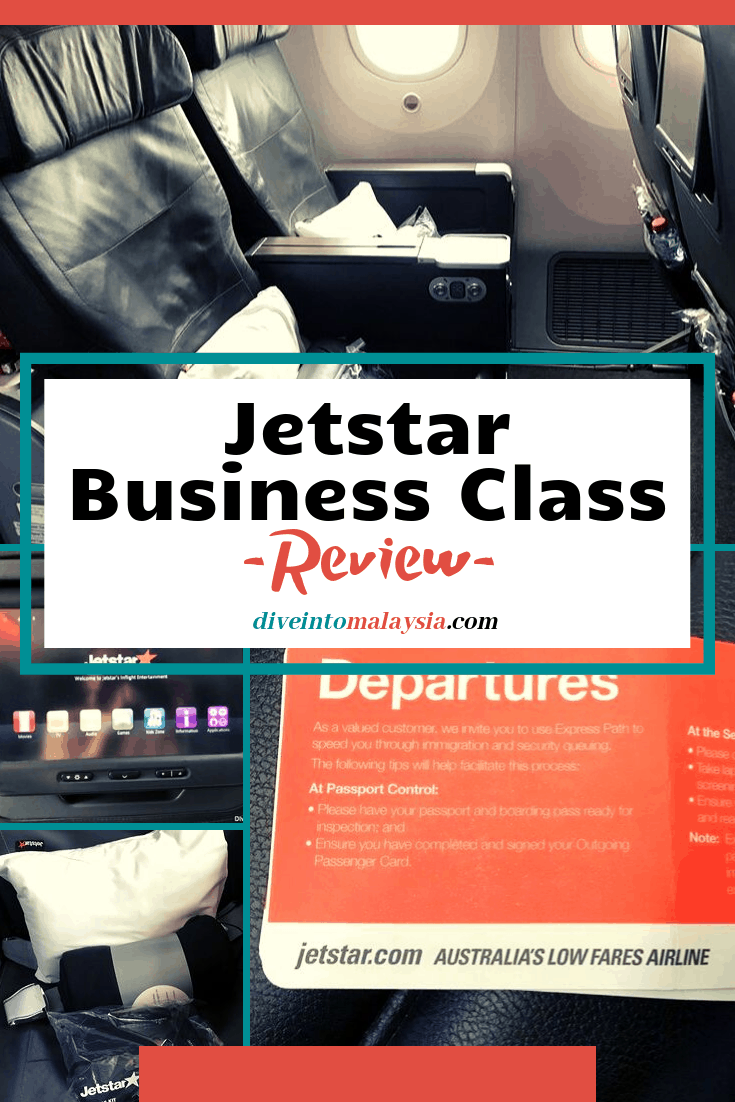 Jetstar Business Class Review