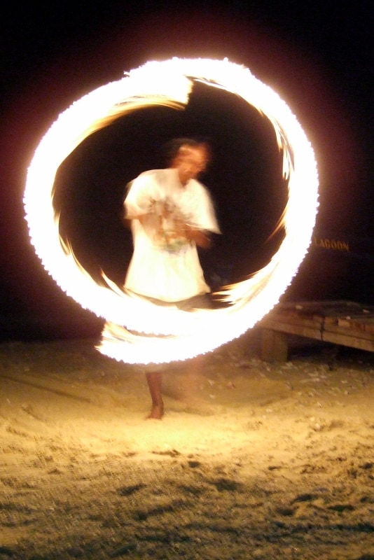 Fire Dancing Show on Perhentian Kecil