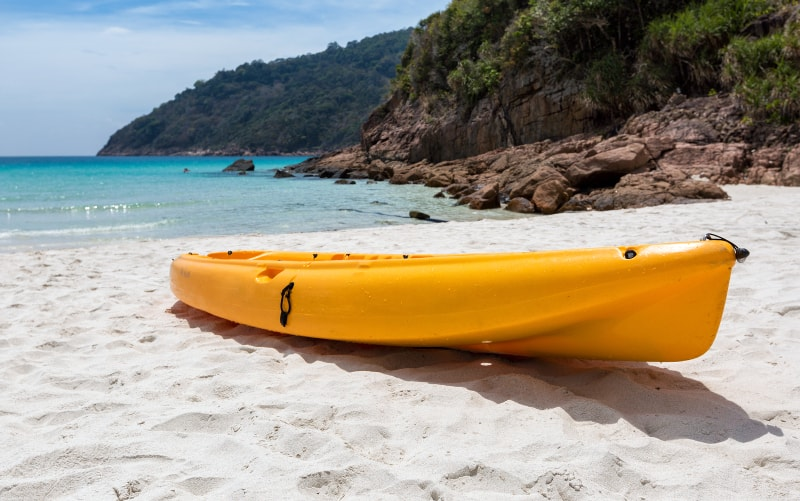 kayaking on Redang Island