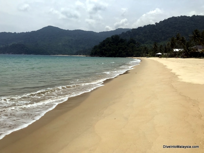 Juara Beach Tioman Island - Tioman or Perhentian Islands comparison