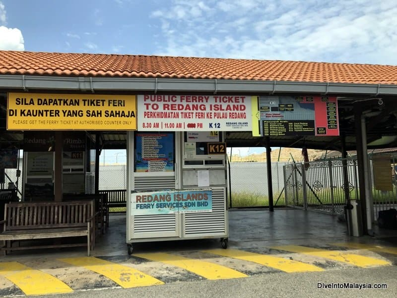 Ticket booth to Redang Island