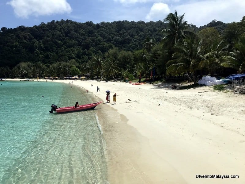 Perhentian Island Resort beach - Redang or Perhentian review