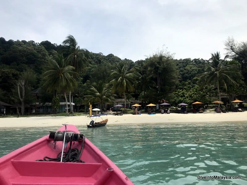 Perhentian Island Resort long beach sea taxi