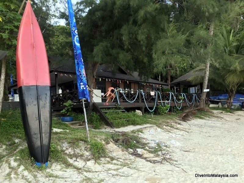 Perhentian Island Resort dive centre