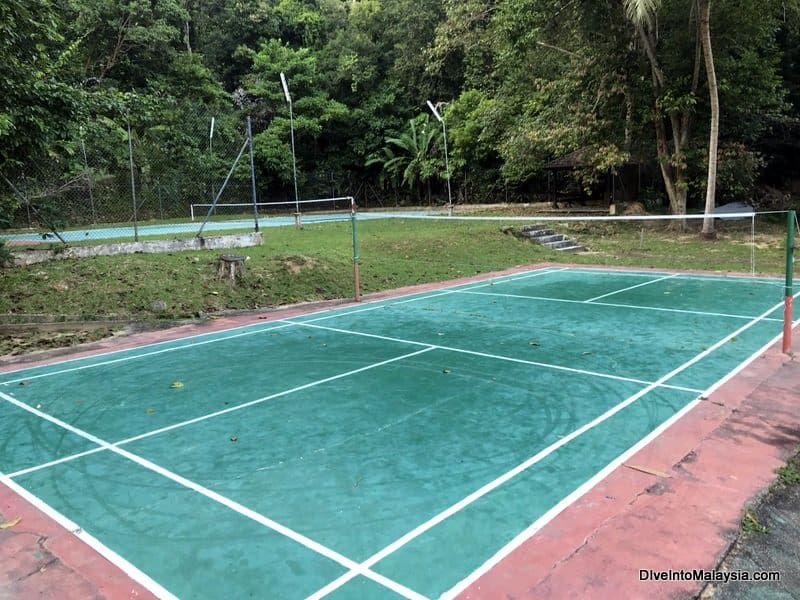 Perhentian Island Resort tennis courts