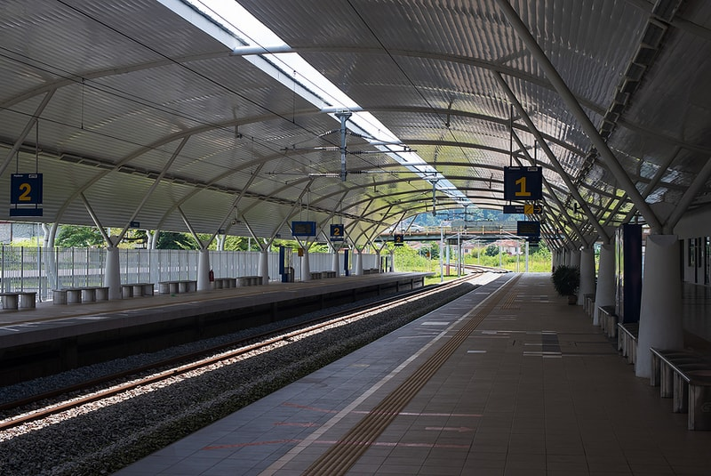 Taiping Electric Train Service (ETS) Station