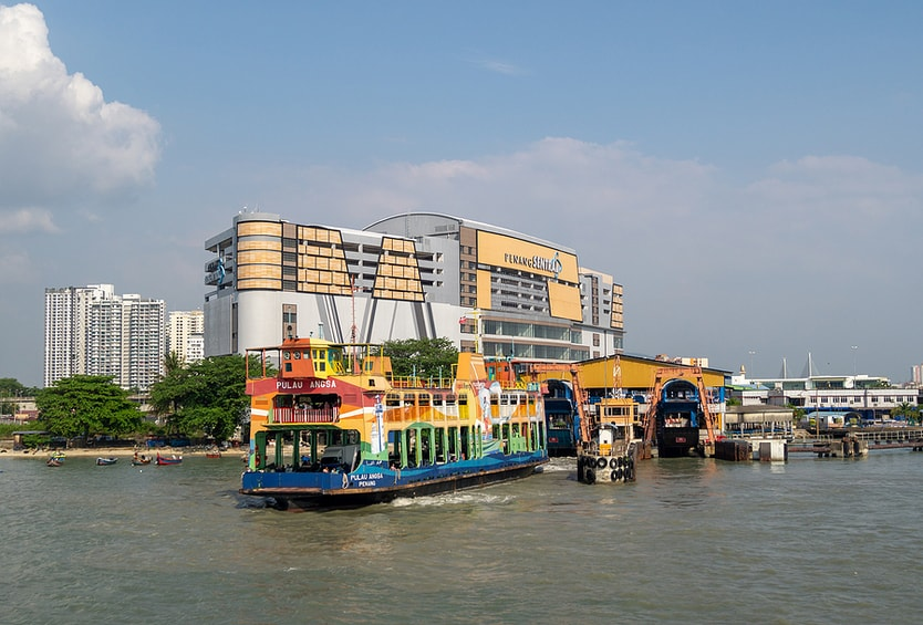Penang Ferry At Butterworth